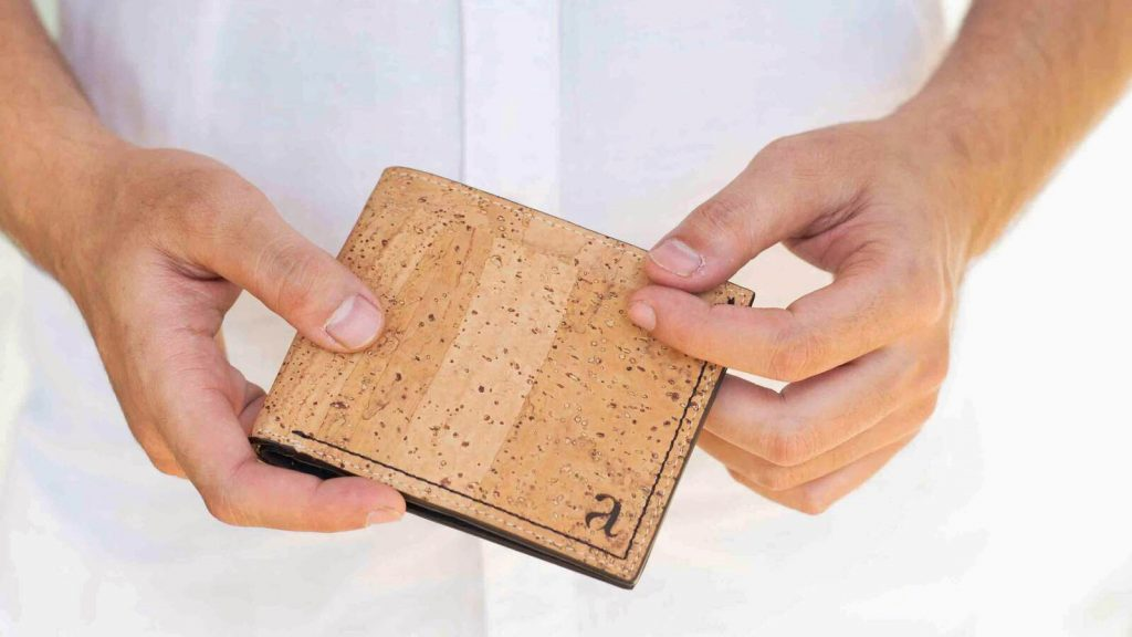 Cork wallet from Arture - Indie brand from Chennai
