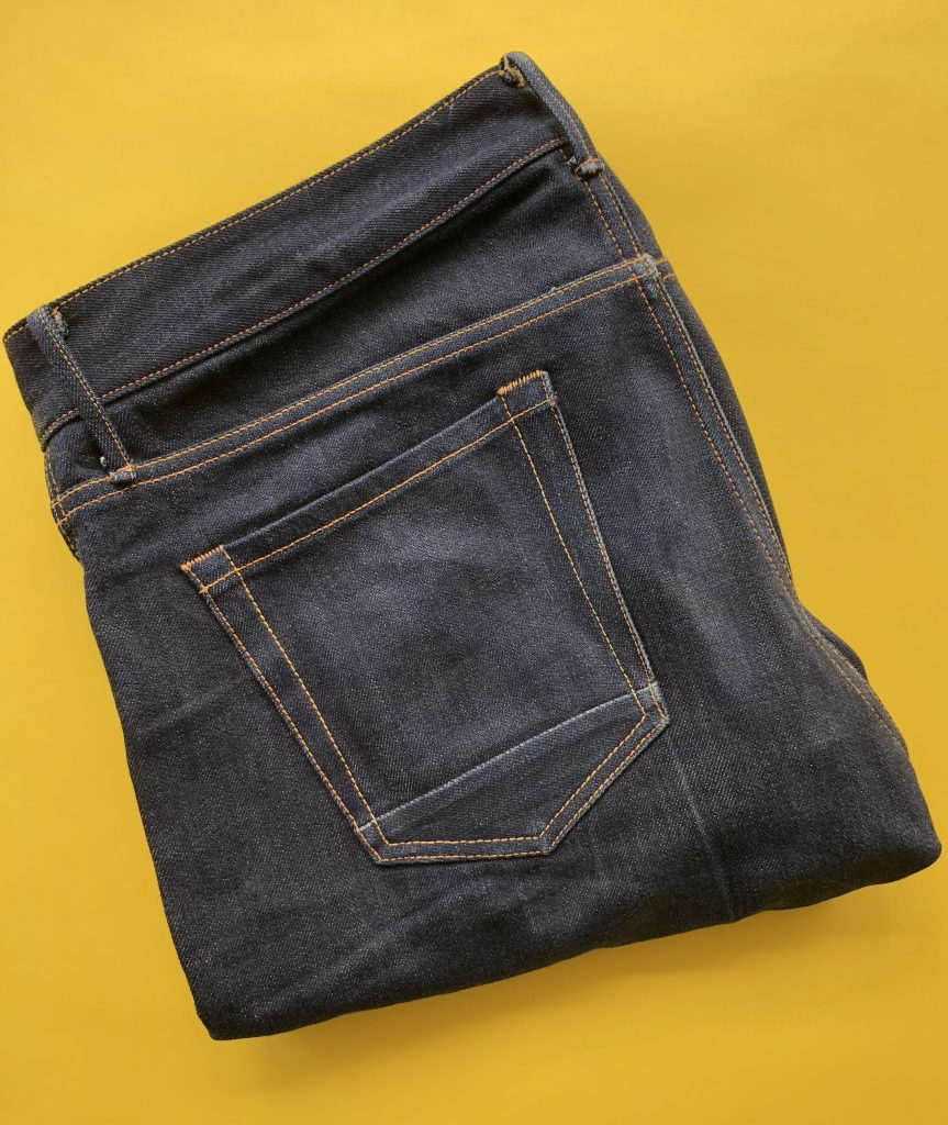 Aged Selvedge Denim from Korra